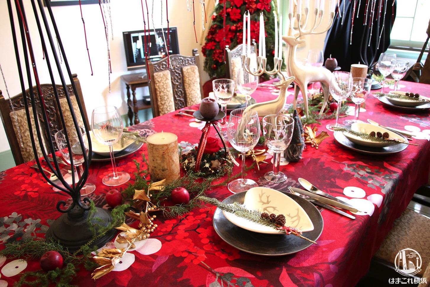 山手西洋館 クリスマス装飾