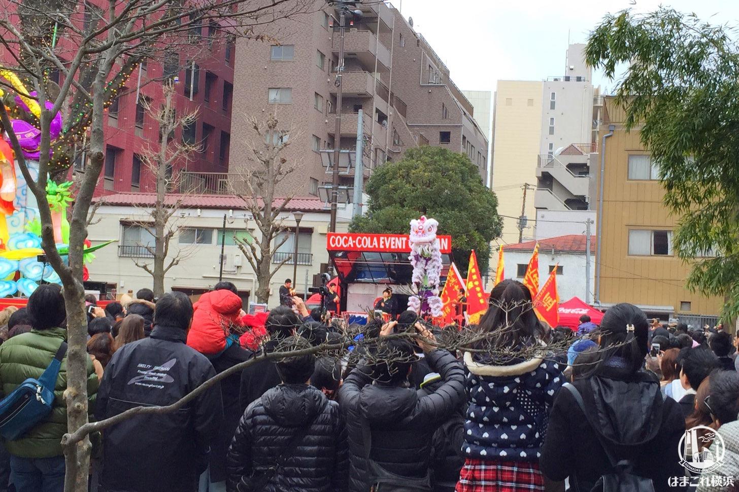 春節娯楽表演(ごらくひょうえん)