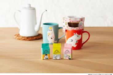 UCCとムーミンコラボで「CAFE@HOME」にオリジナルブレンド、横浜のコーヒースタイルUCCも