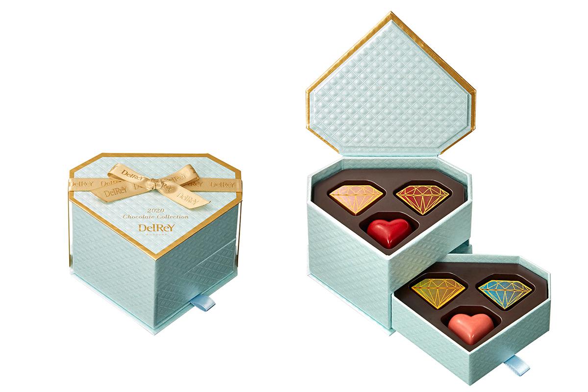デルレイ「ブルーゴールドダイヤモンドBOX(6個入)」