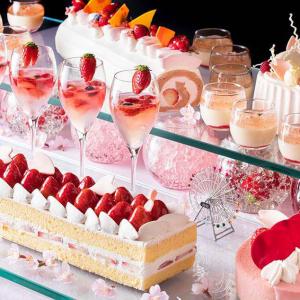 横浜ベイホテル東急で夜のデザートブッフェ「桜ジャーニー」初開催!桜のショートケーキやカクテル