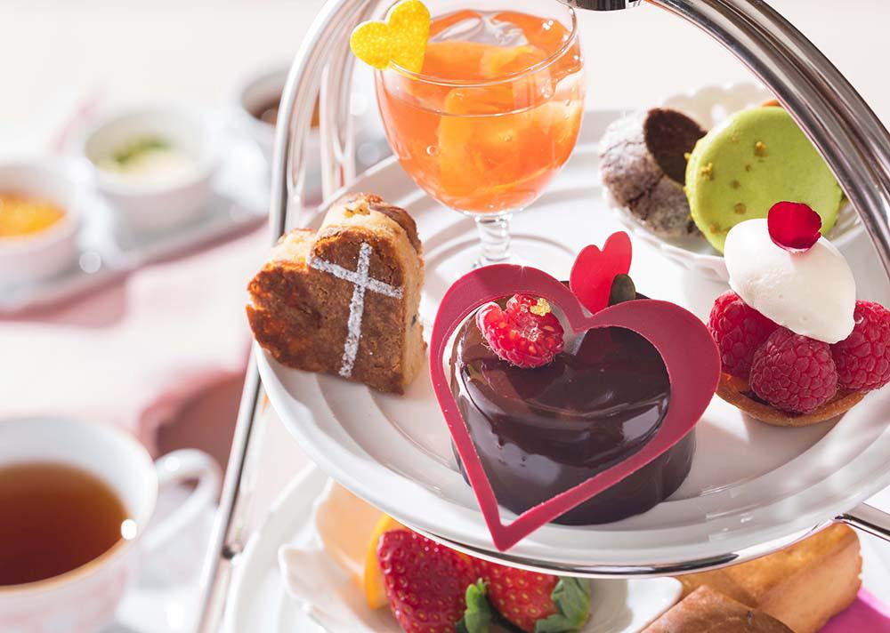 横浜ベイホテル東急、「バレンタイン アフタヌーンティー」提供開始!上質なチョコスイーツを