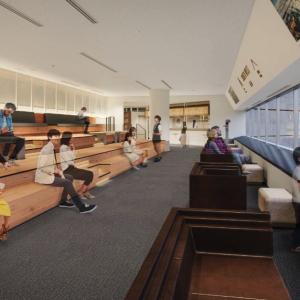 横浜ランドマークタワー展望フロア「スカイガーデン」に空の図書室や空中散歩マップ、カフェなど誕生!