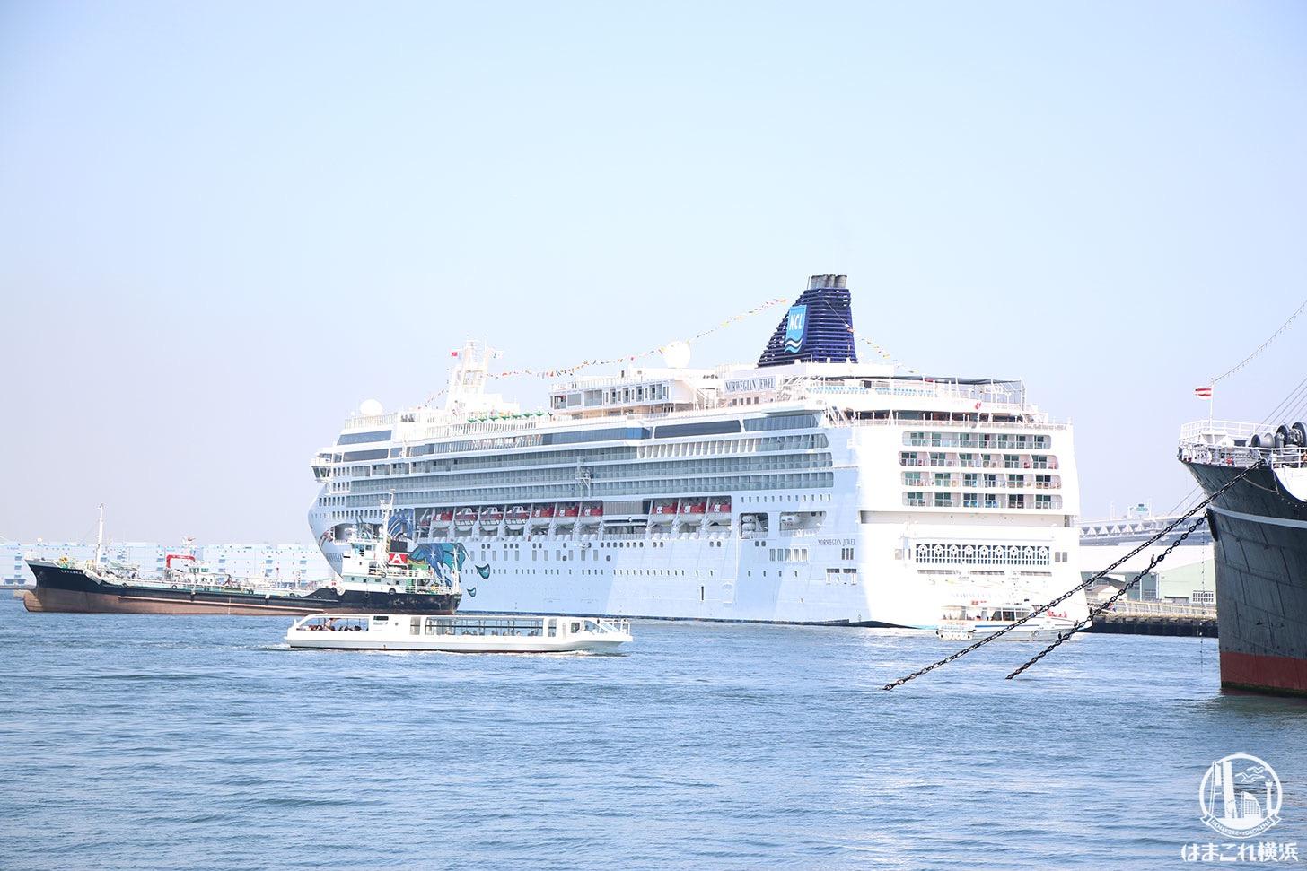 2020年 横浜港に14隻の客船が初入港!ゴールデンウィークには6隻同時着岸