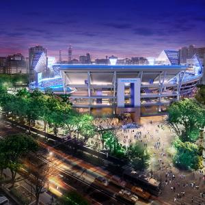 横浜スタジアム、レフト側「ウィング席」新設で収容人数34,046人に!