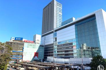 2020年1月 横浜駅西口 駅ビル完成までの様子