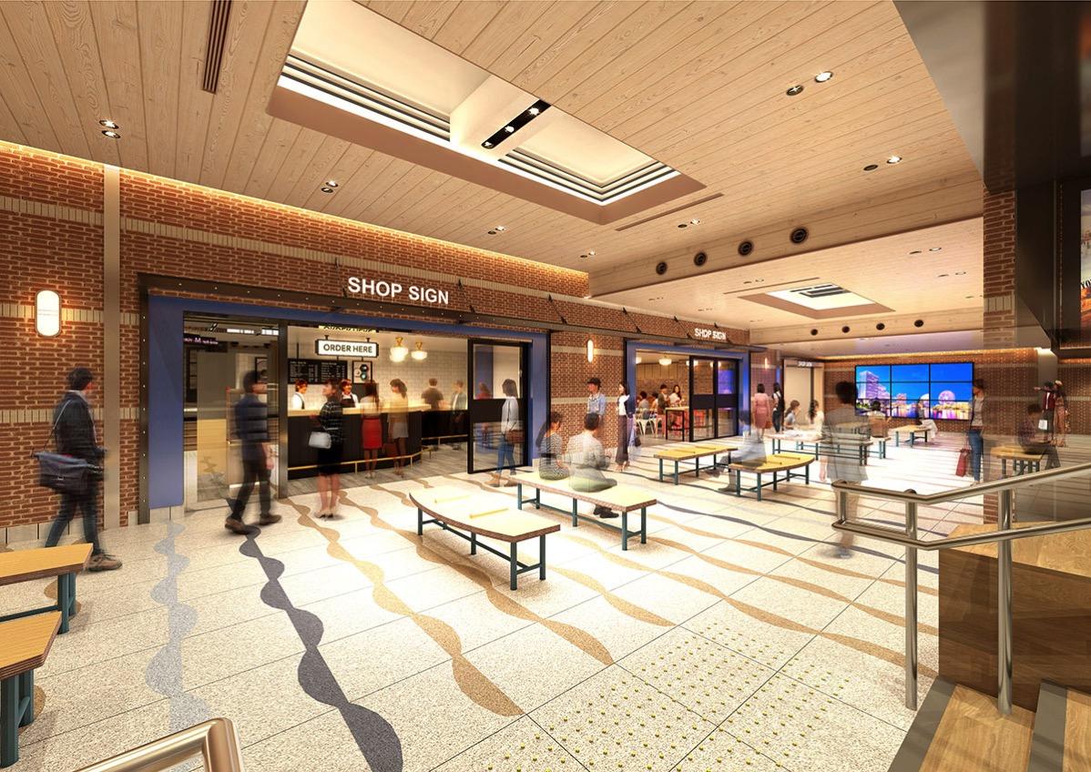 横浜駅にエキナカ商業店舗「エキュートエディション横浜」2020年7月開業!