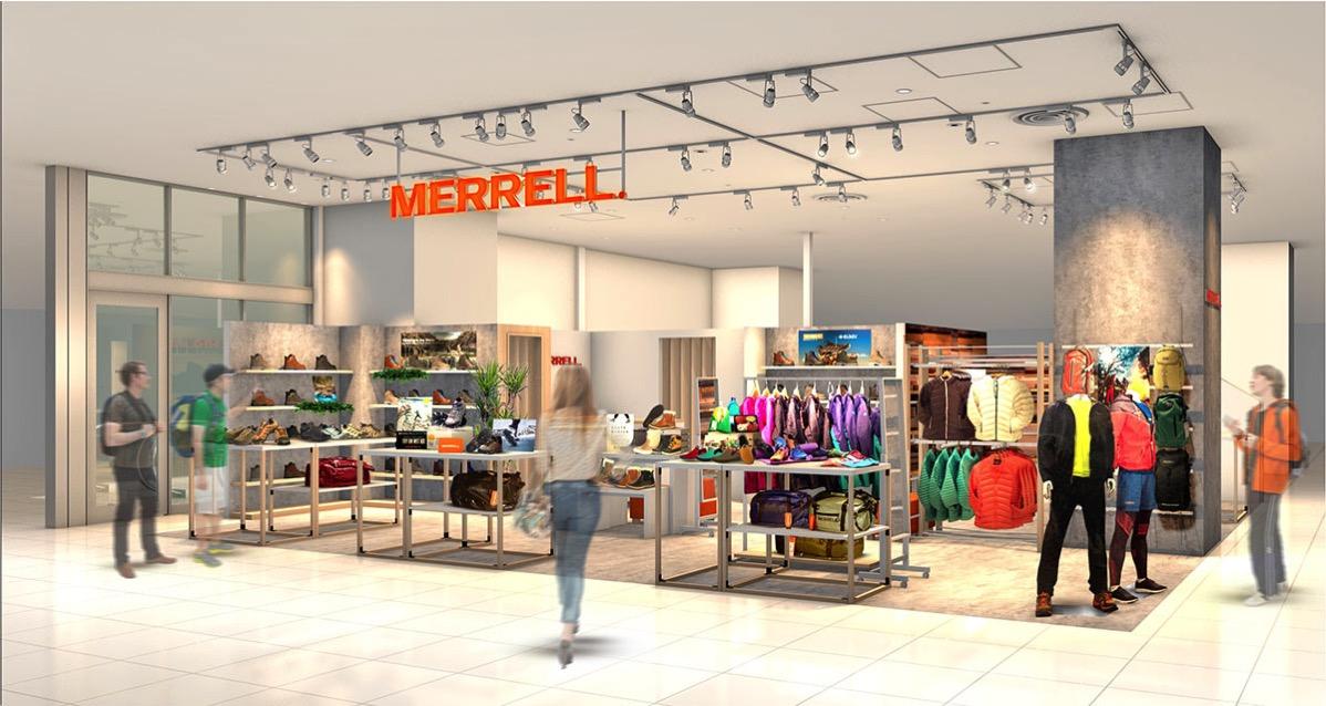 メレルの新コンセプトストア「メレル みなとみらい店」コレットマーレにオープン!