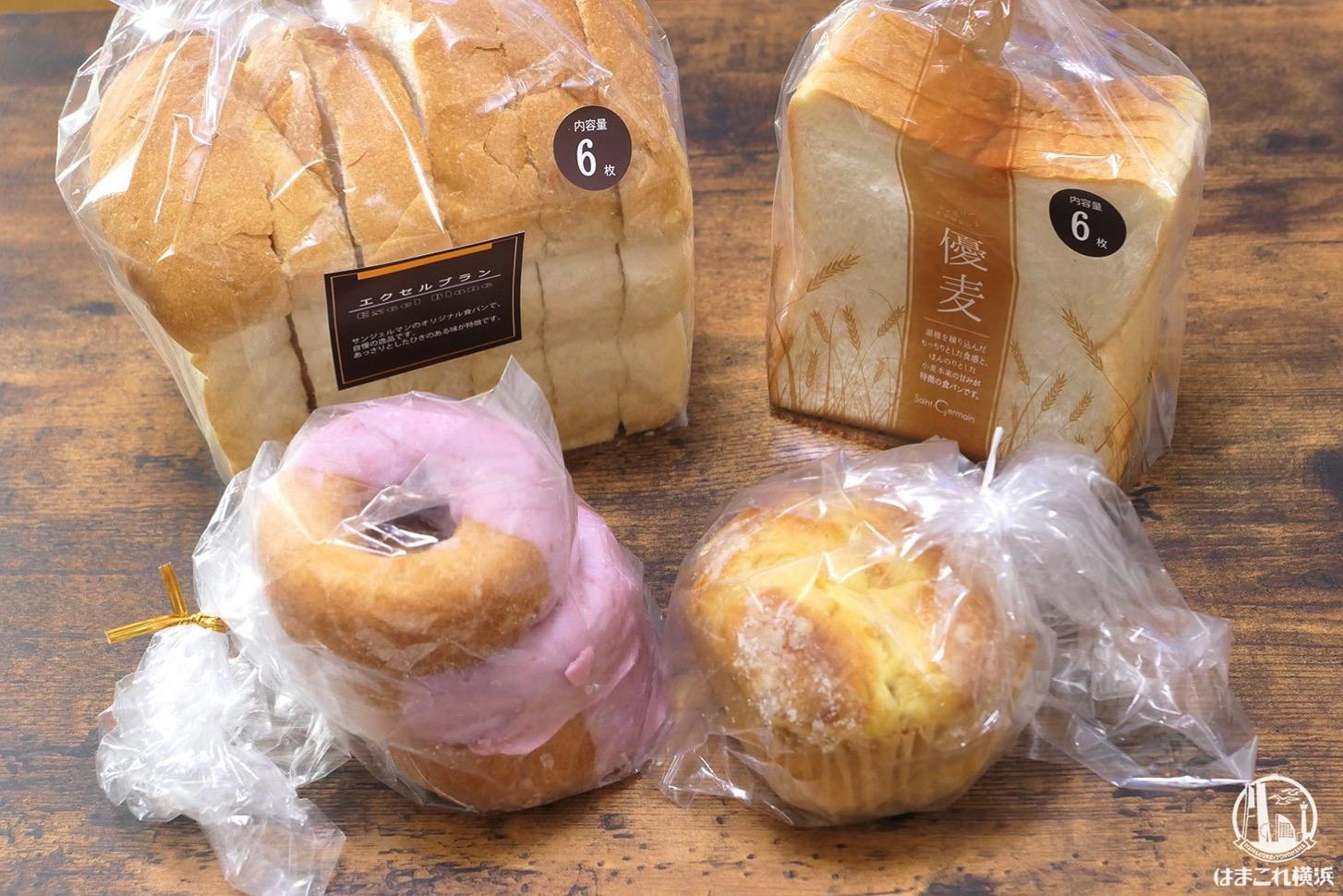 購入したアウトレットパン