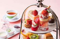 横浜ベイホテル東急「いちご アフタヌーンティー」提供!いちごスイーツづくしで贅沢ティータイム