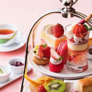 横浜ベイホテル東急「いちご アフタヌーンティー」提供!いちごスイーツづくしの贅沢ティータイム