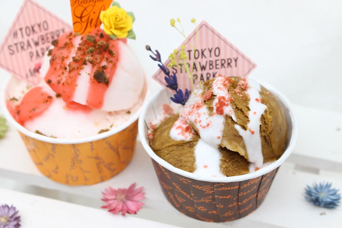 バレンタインカップケーキ風アロマバスボム