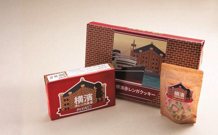 赤レンガクッキーとショコラ餅 or プリントキャンディ餅