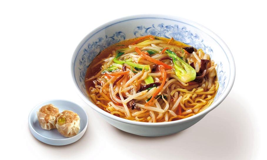 横浜名物シウマイとサンマー麺セット