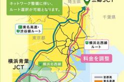 横浜北西線(横浜北線~東名高速)開通後の首都高速道路料金が決定