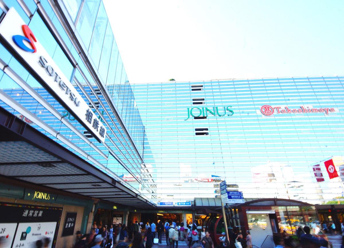 横浜駅のジョイナスにAIインフォメーション「AIさくらさん」導入!