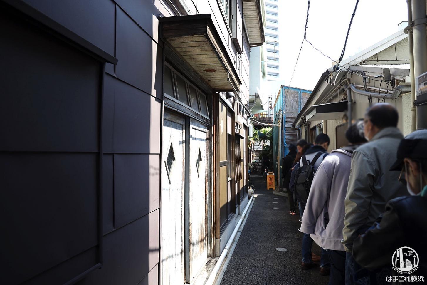 ちまき屋 開業前の列