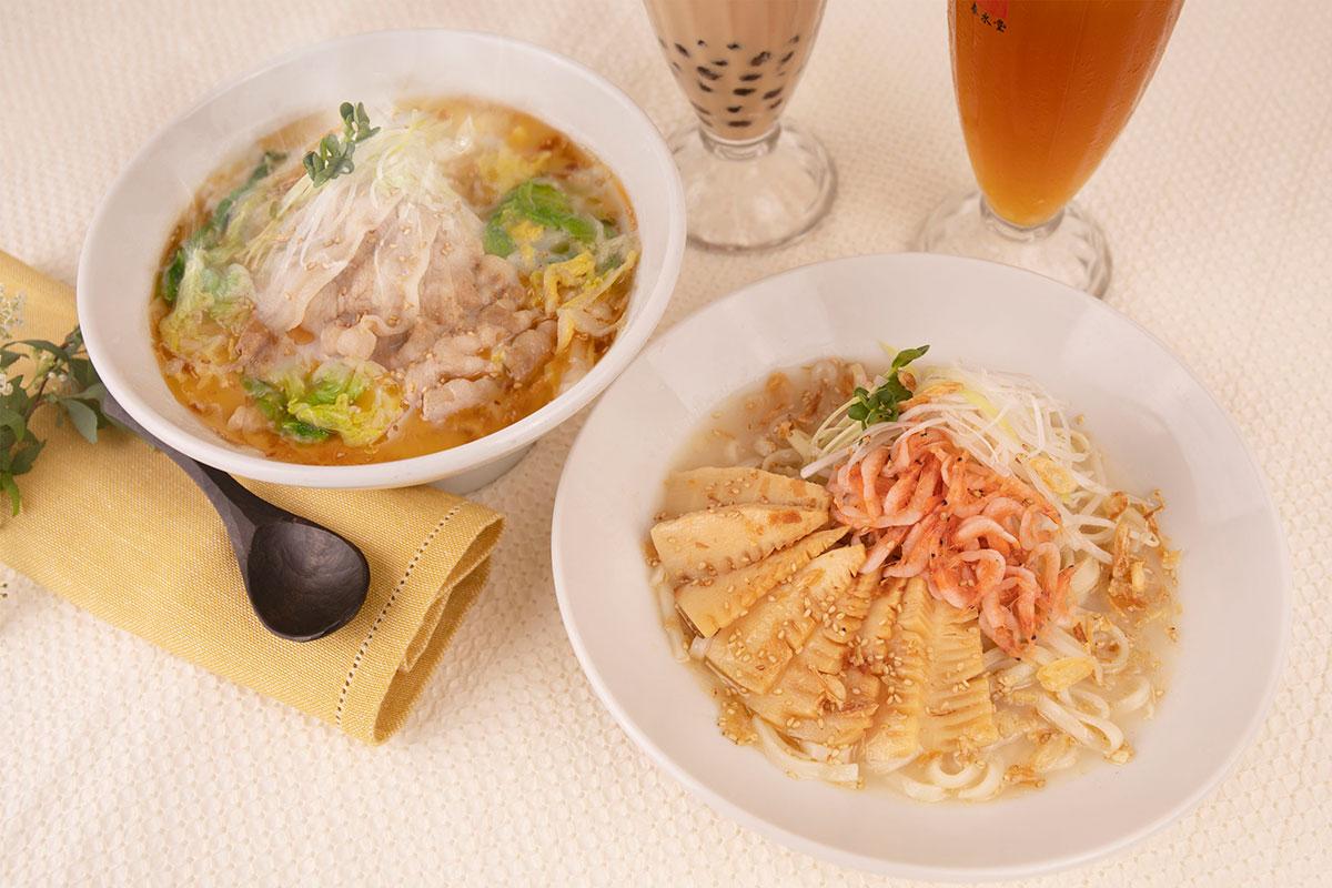 酸菜白肉麺