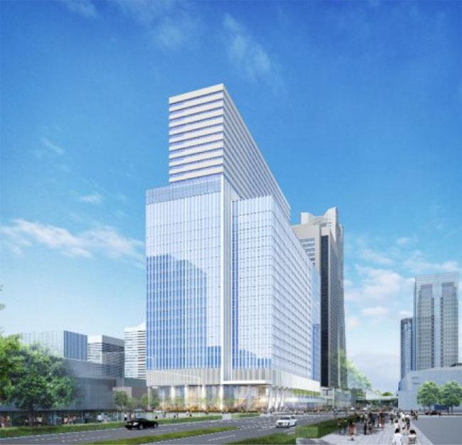 みなとみらいの中央地区37街区にホテルや大規模オフィスビル整備