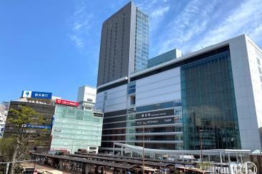 2020年4月 横浜駅西口 駅ビル完成までの様子