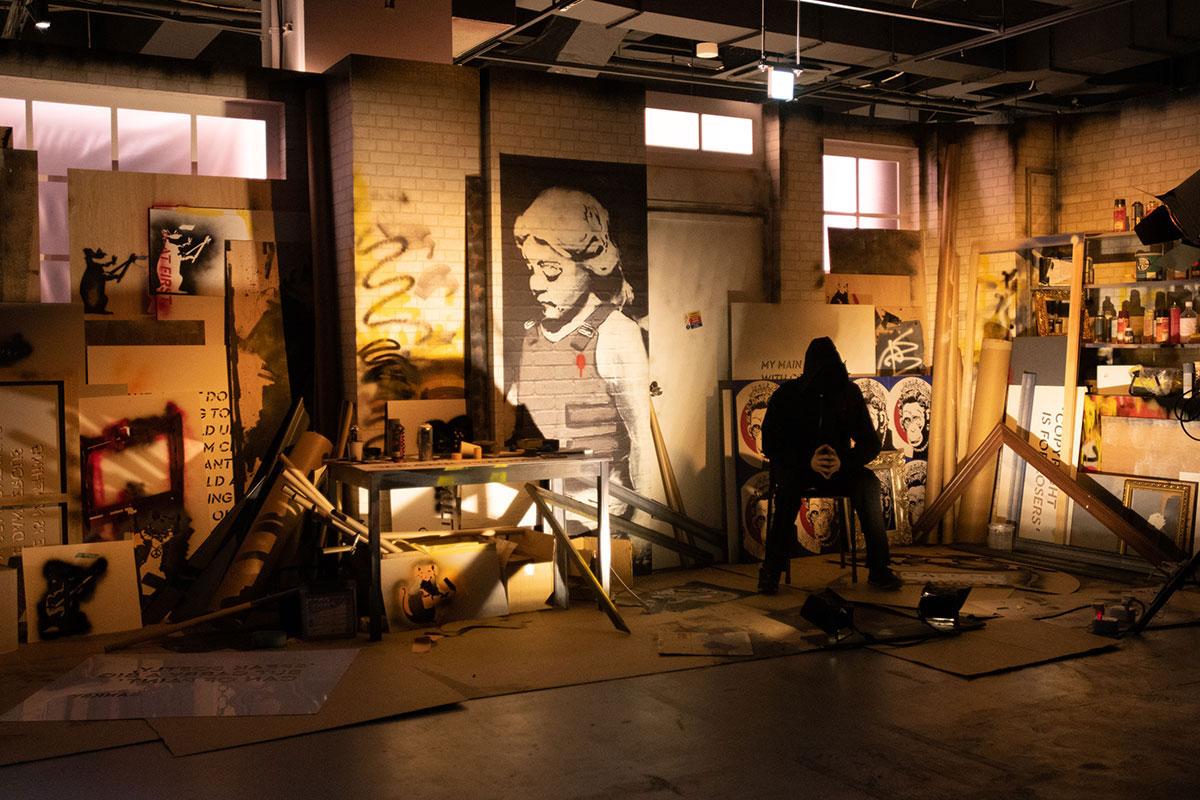 横浜駅アソビルの「バンクシー展 天才か反逆者か」5月30日より再開 完全事前予約制