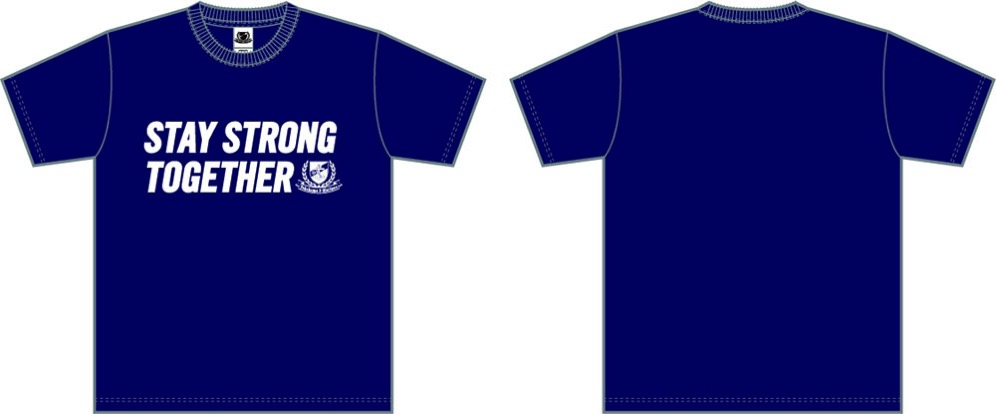 Tシャツ<STAY STRONG TOGETHER>