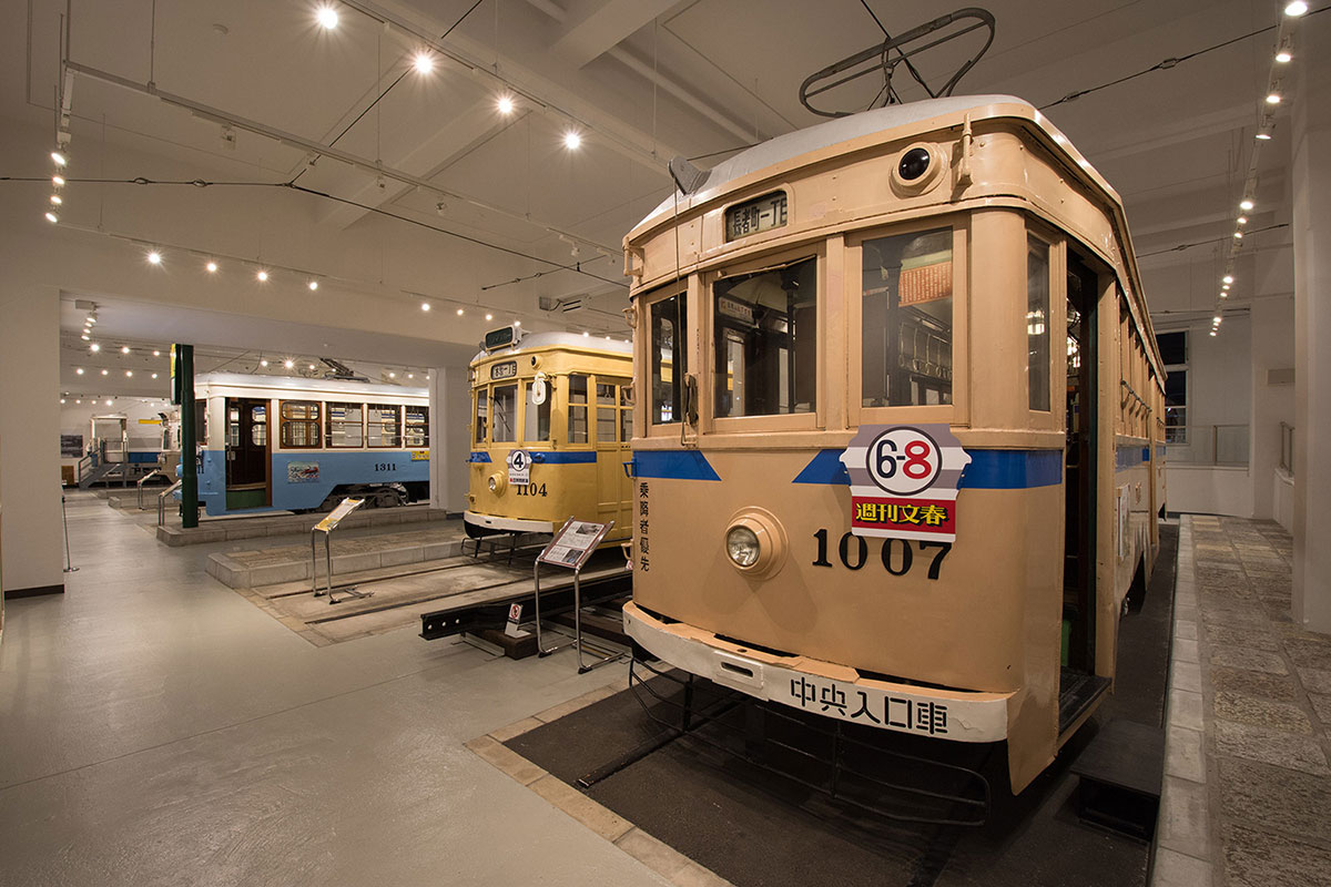 横浜市電保存館、市電シミュレーターや昭和の横浜を映像で配信
