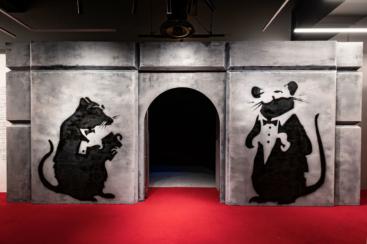 アソビル「バンクシー展 天才か反逆者か」早朝オープン開始!休日朝8時、平日朝9時