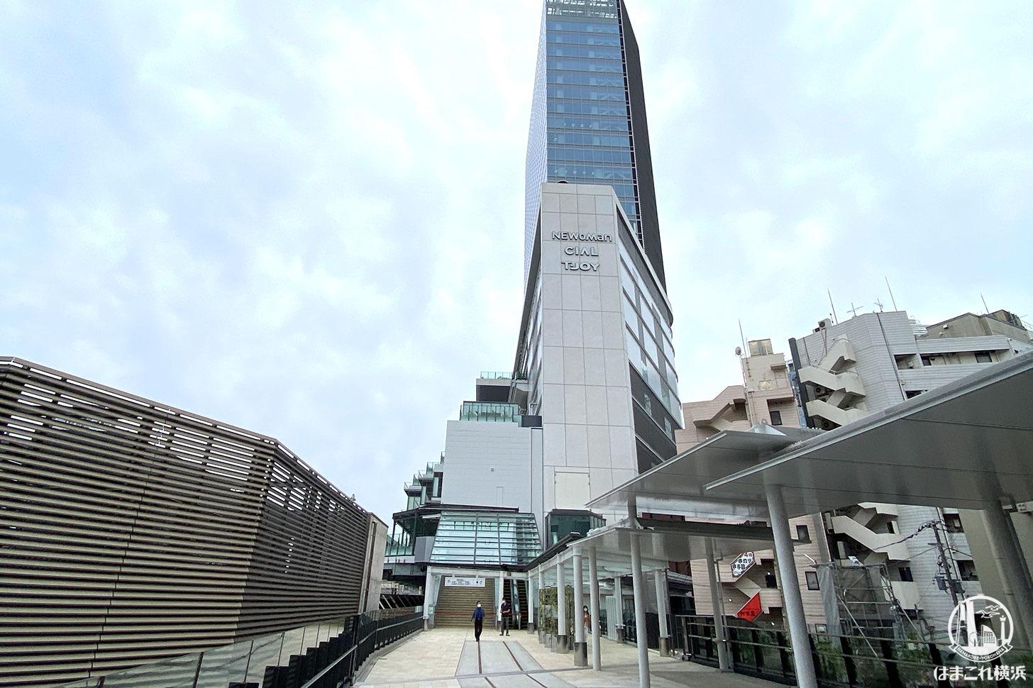 横浜駅「はまレールウォーク」も開通!JR横浜タワーとJR鶴屋町ビルを繋ぐ歩行者デッキ