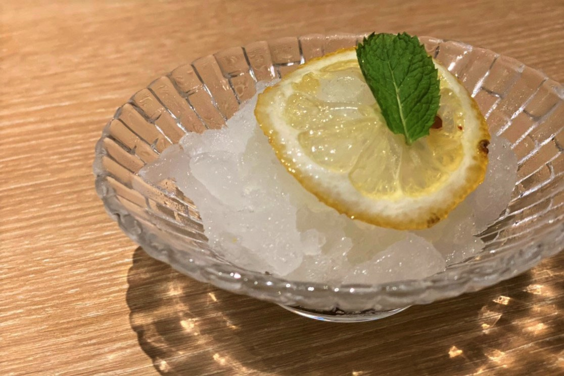 神奈川県産レモンのさっぱりグラニテ