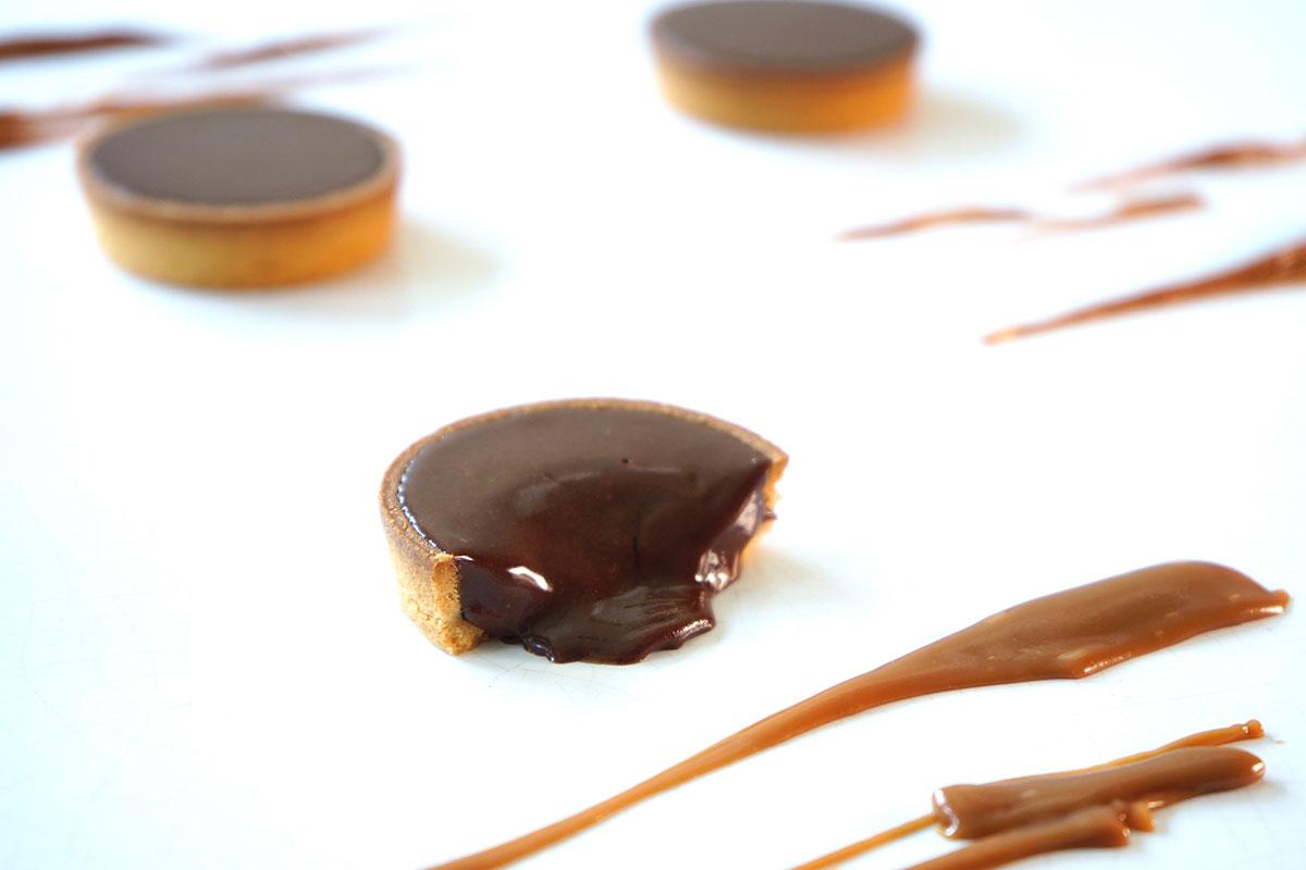 生チョコキャラメルタルト