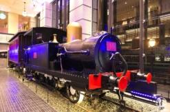 桜木町駅新南口に蒸気機関車やジオラマ、旧横濱鉄道歴史展示「旧横ギャラリー」充実!