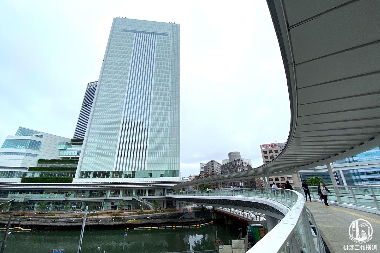 さくらみらい橋、横浜市庁舎から桜木町駅まで歩いてみた!新南口との位置関係