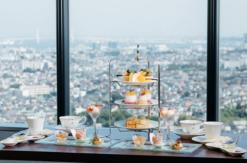 新横浜プリンスホテル、ピーチ×マンゴーの天空のアフタヌーンティー開催