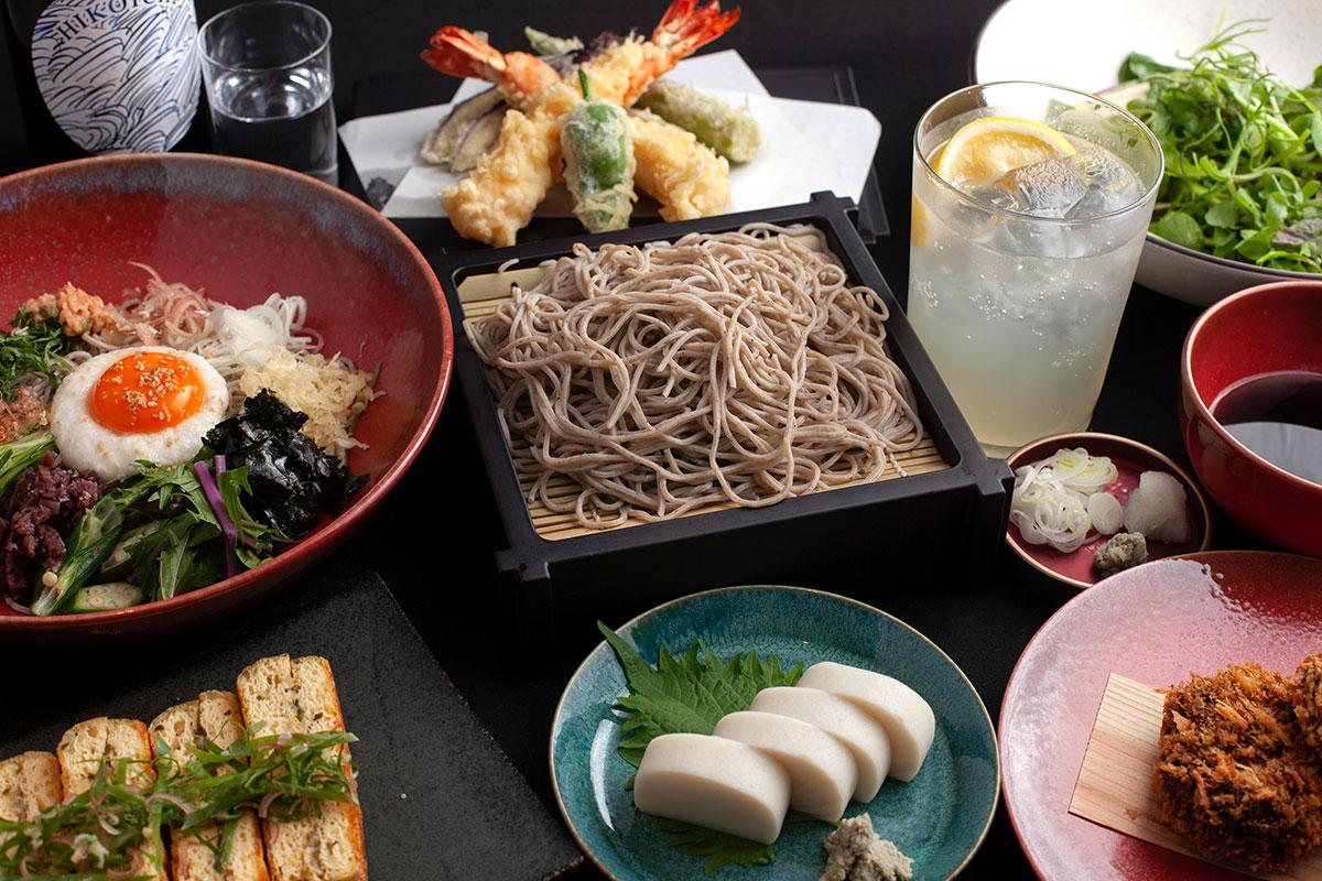 上質な蕎麦和食「蕎麦 蘇枋(すおう)」ニュウマン横浜にオープン