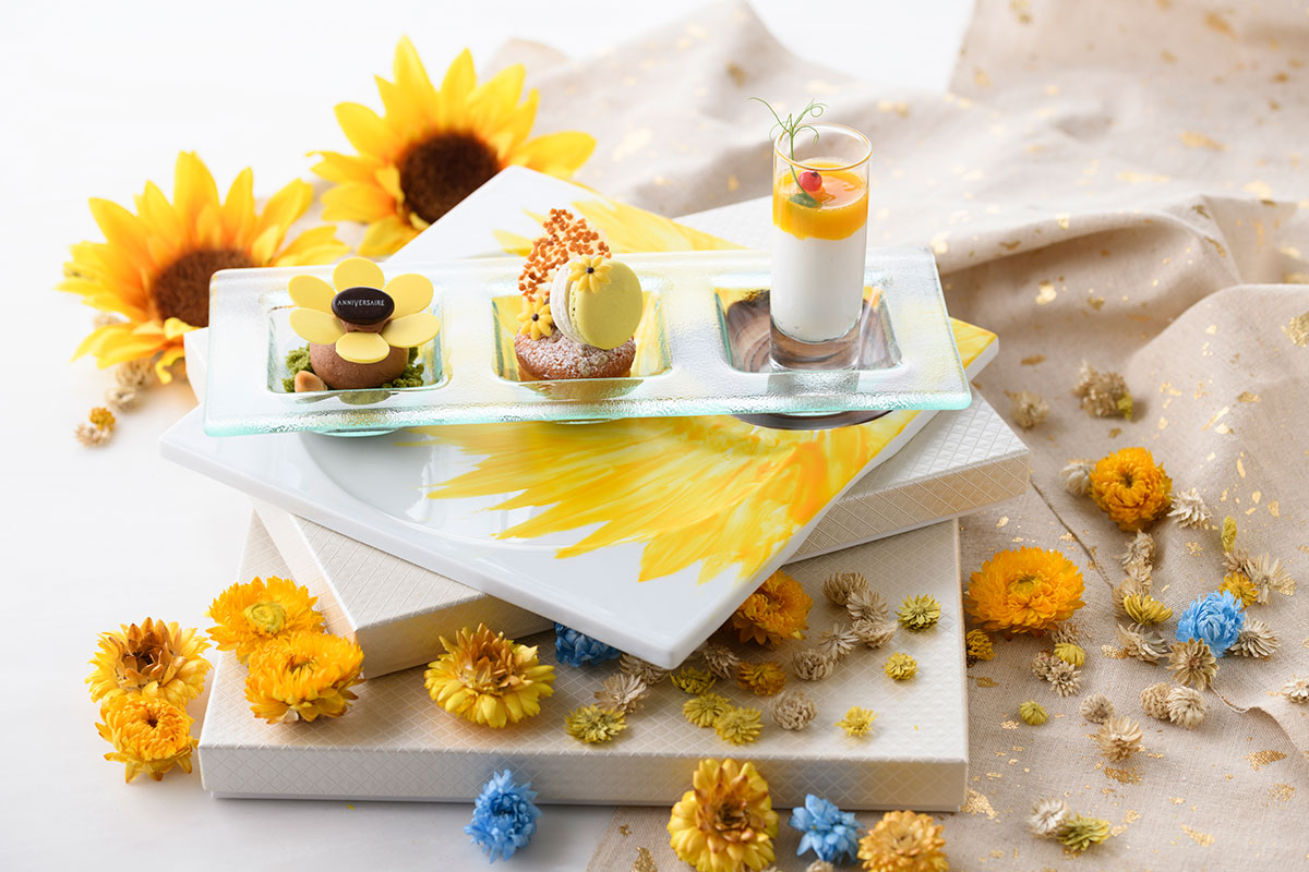 Sunflower plate (サンフラワープレート)
