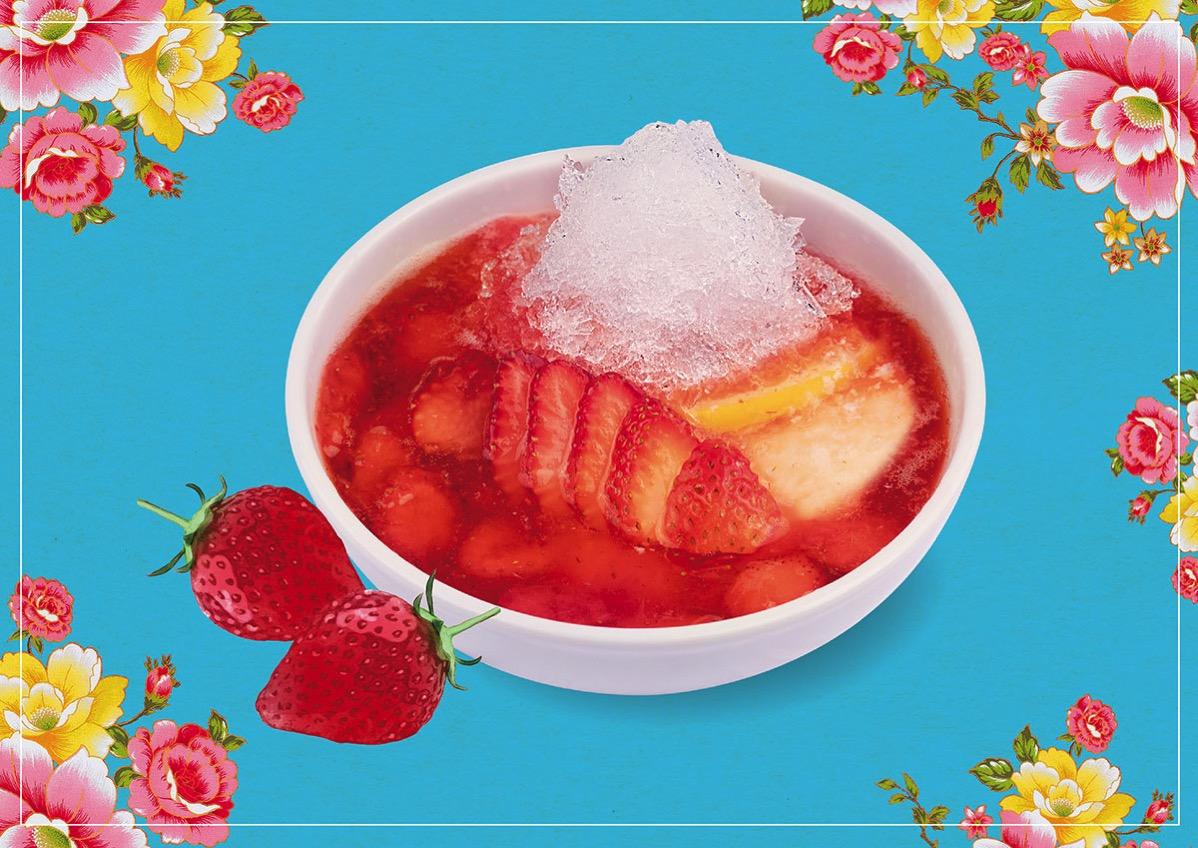春水堂、夏季限定「苺かき氷豆花」新発売!豆花が主役のオリジナル商品