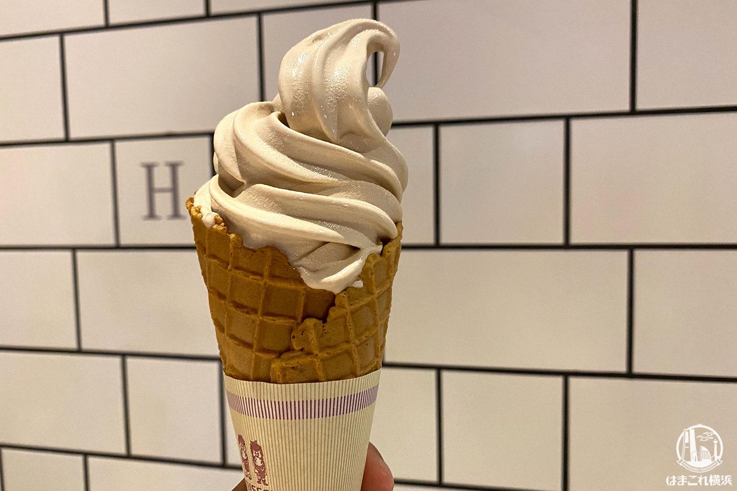 カフェオレソフトクリーム