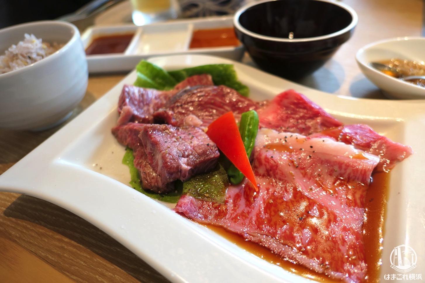 横浜焼肉kintanで念願の焼肉ランチ!旨味・食感最高の肉堪能