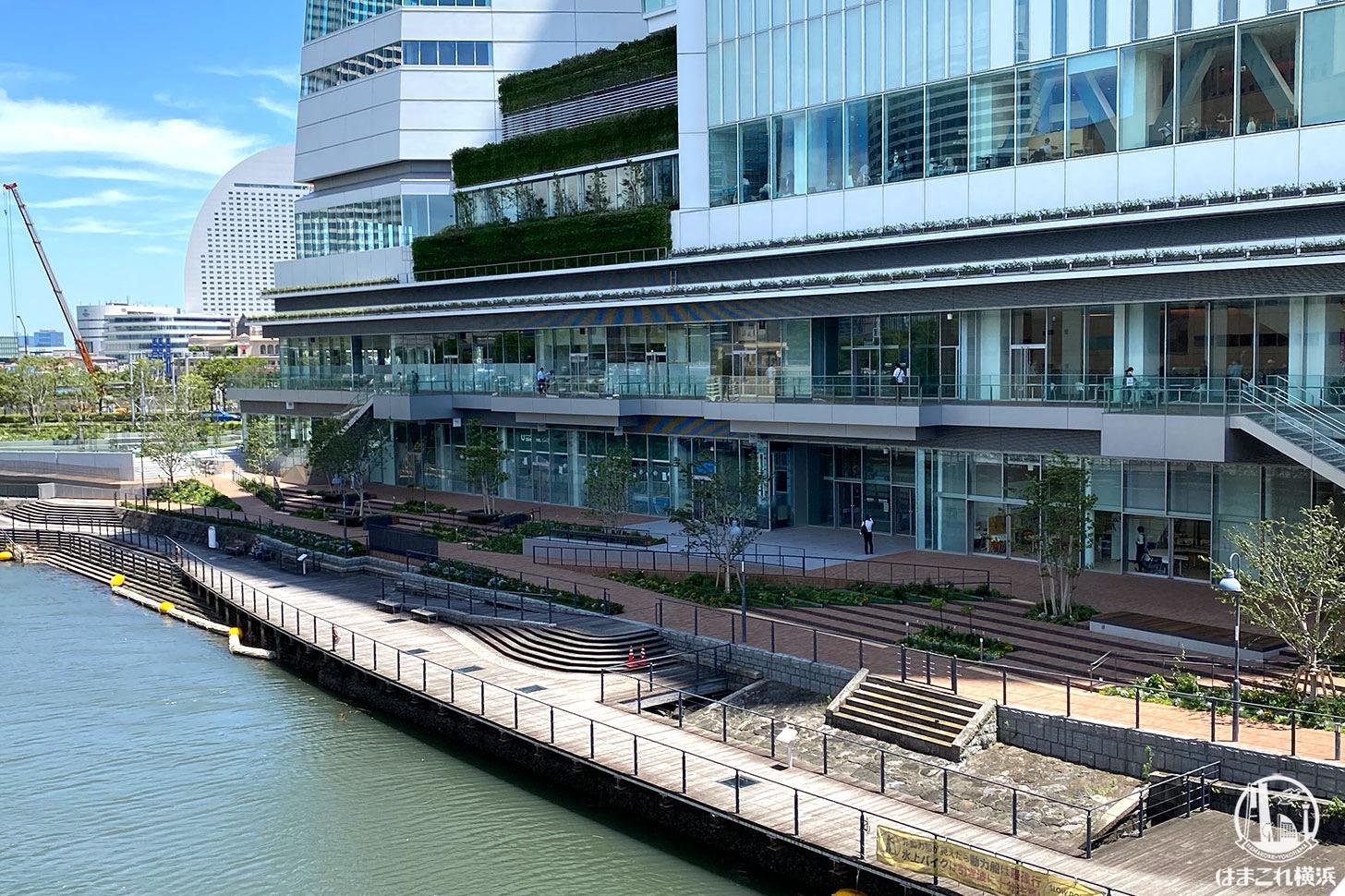 ラクシスフロント、横浜市役所内に全面開業!フードホールやレストラン一覧