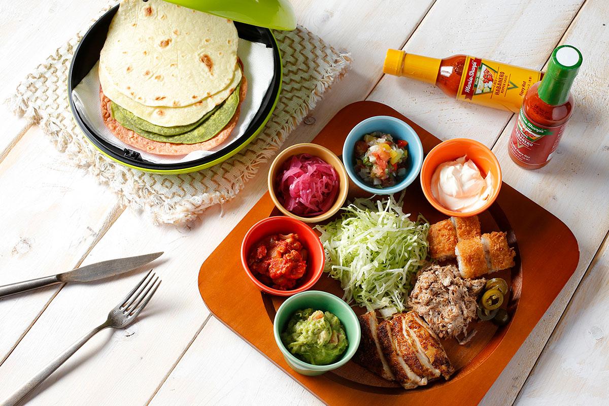 メキシカン料理タコス