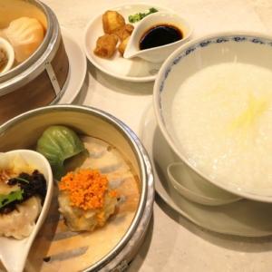 ミズ カサブランカの点心5点とお粥のランチセットでミシュランの味堪能!ニュウマン横浜