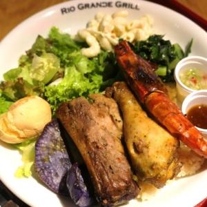 リオグランデグリル シァル横浜店のシュラスコプレートが肉・野菜充実!テイクアウトあり