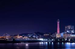 横浜マリンタワー、ライトアップ第二弾で参加型ライトアップ実施