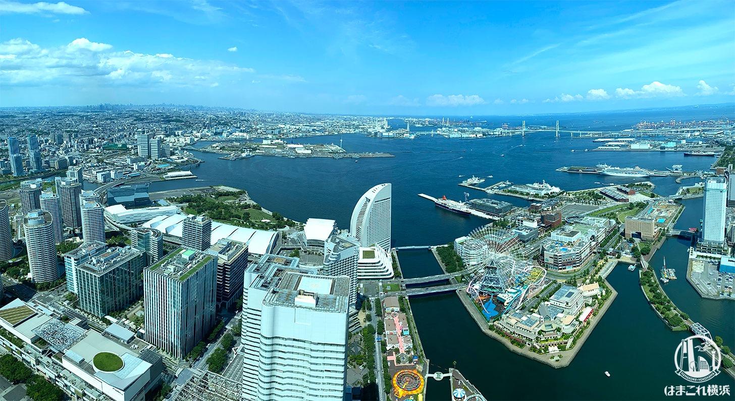 横浜ランドマークタワー 展望フロア「スカイガーデン」