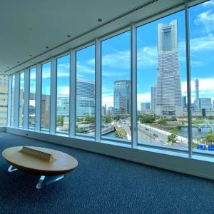 横浜市庁舎のラウンジはみなとみらい一望!商業施設「ラクシス フロント」も開業
