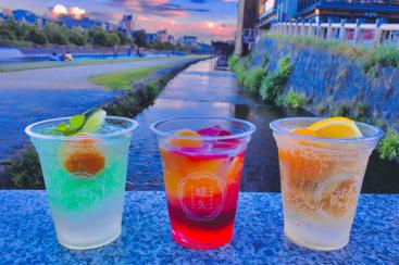 チョーヤ梅酒の梅体験専門店「蝶矢」梅カクテル3種類を金曜日限定でテイクアウト販売