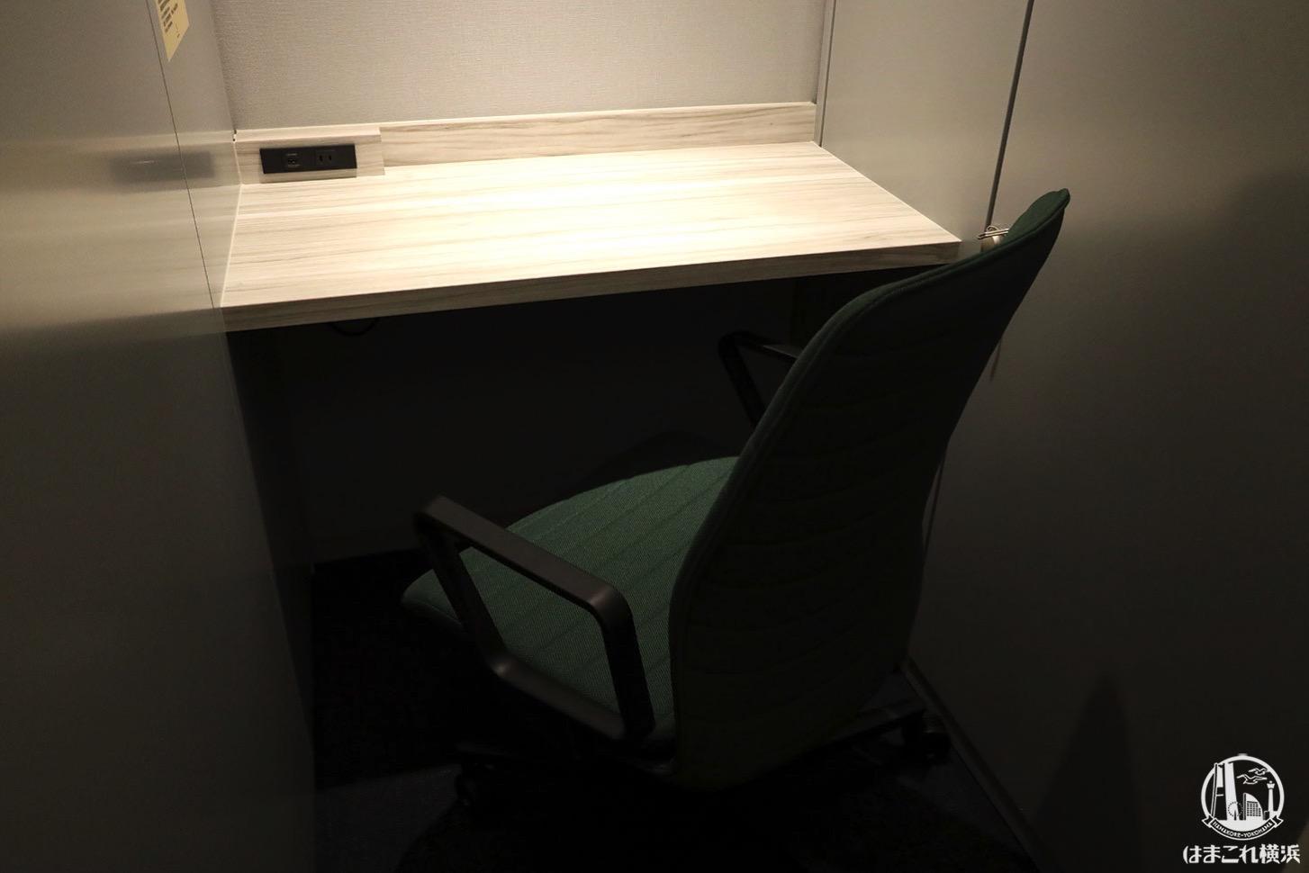 SHELTERタイプの席