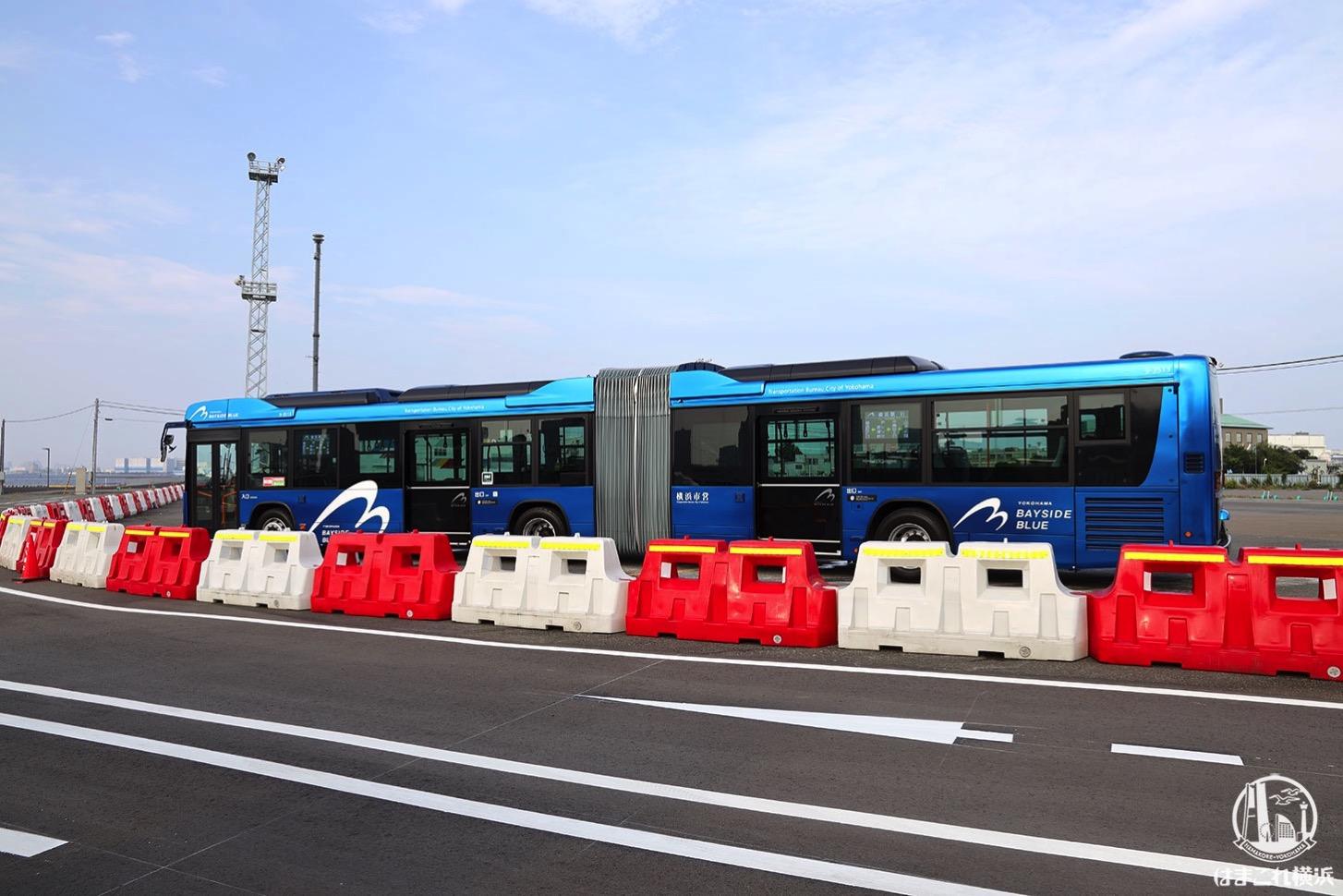 連節バス ベイサイドブルー