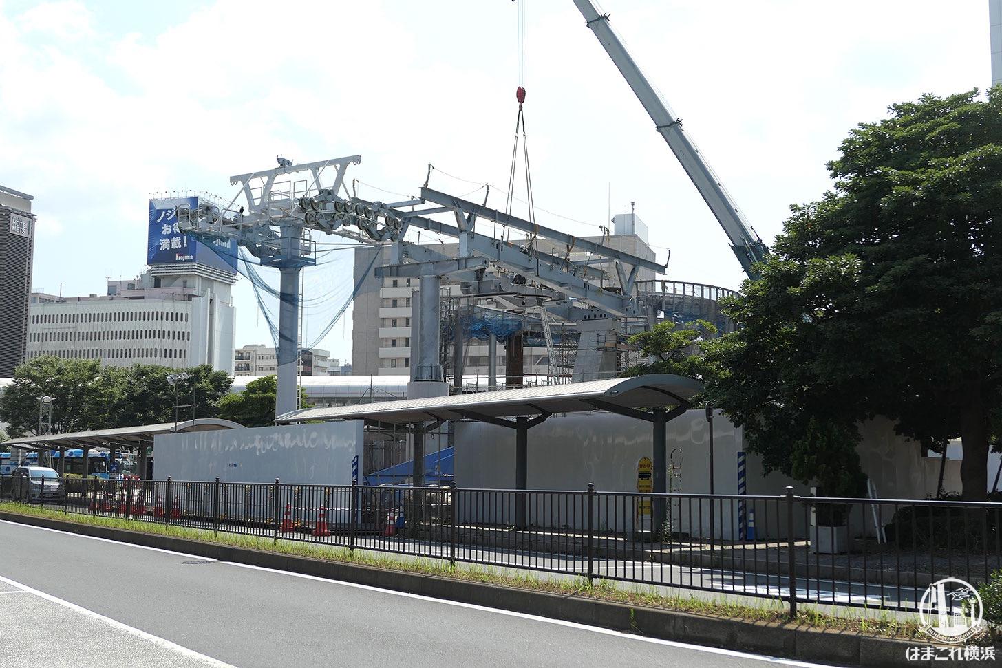 桜木町駅 ロープウェイ